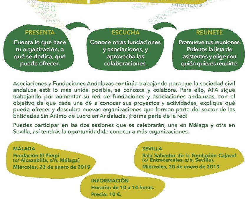 Sevilla. Networking 'Conectando Fundaciones y Asociaciones: Forma parte de esta red'