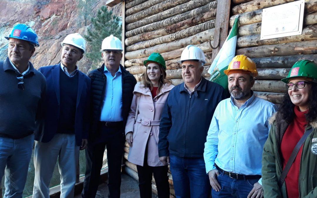 Fundación Río Tinto recupera el túnel de Peña de Hierro cuatro meses después del incendio