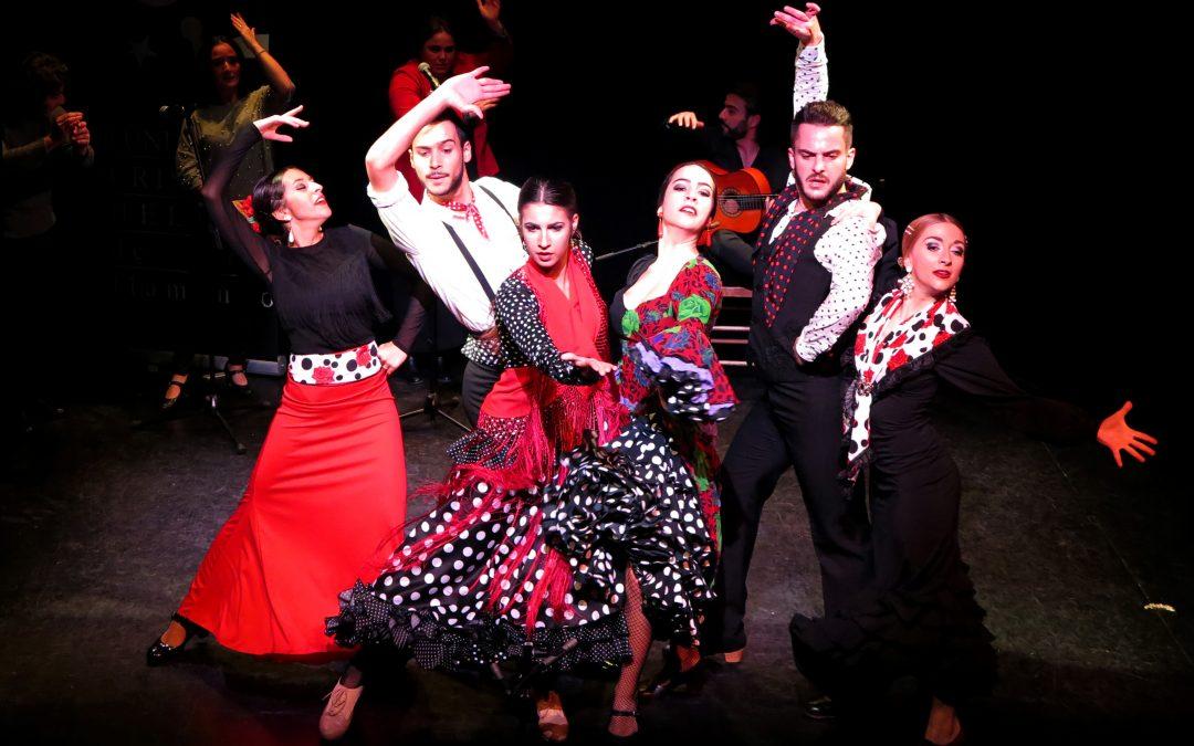 Los alumnos del Curso Flamenco Anual 2018/2019 se estrenan en el teatro de la Fundación Cristina Heeren para celebrar la Navidad