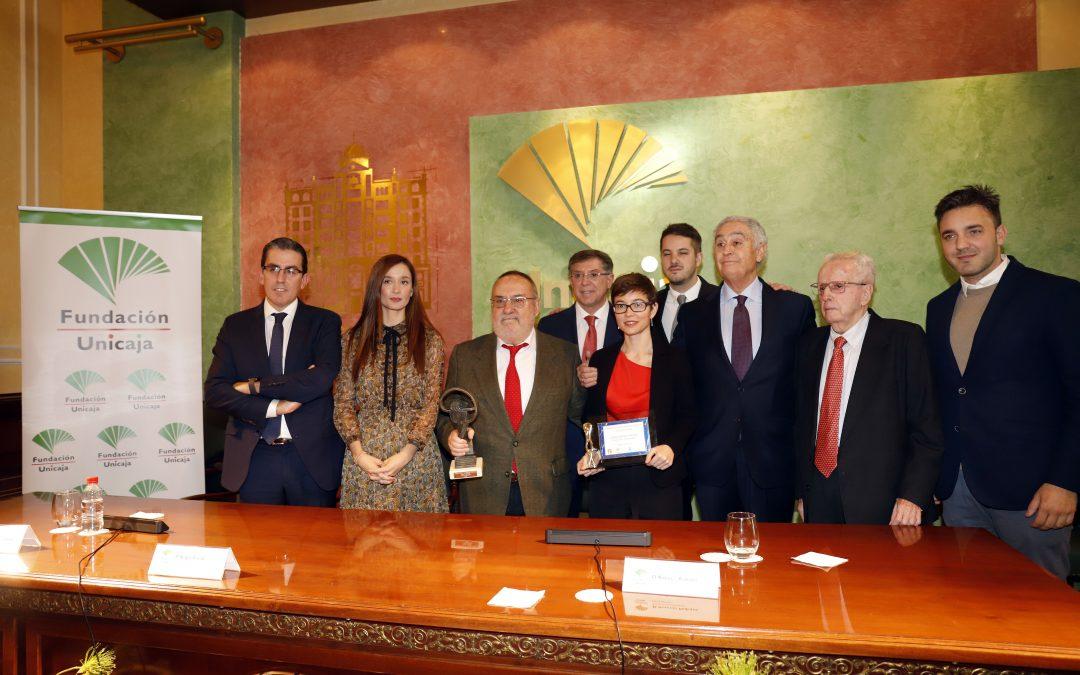 Fundación Unicaja y Fundación Manuel Alcántara entregan el I Premio Nacional de Periodismo Deportivo