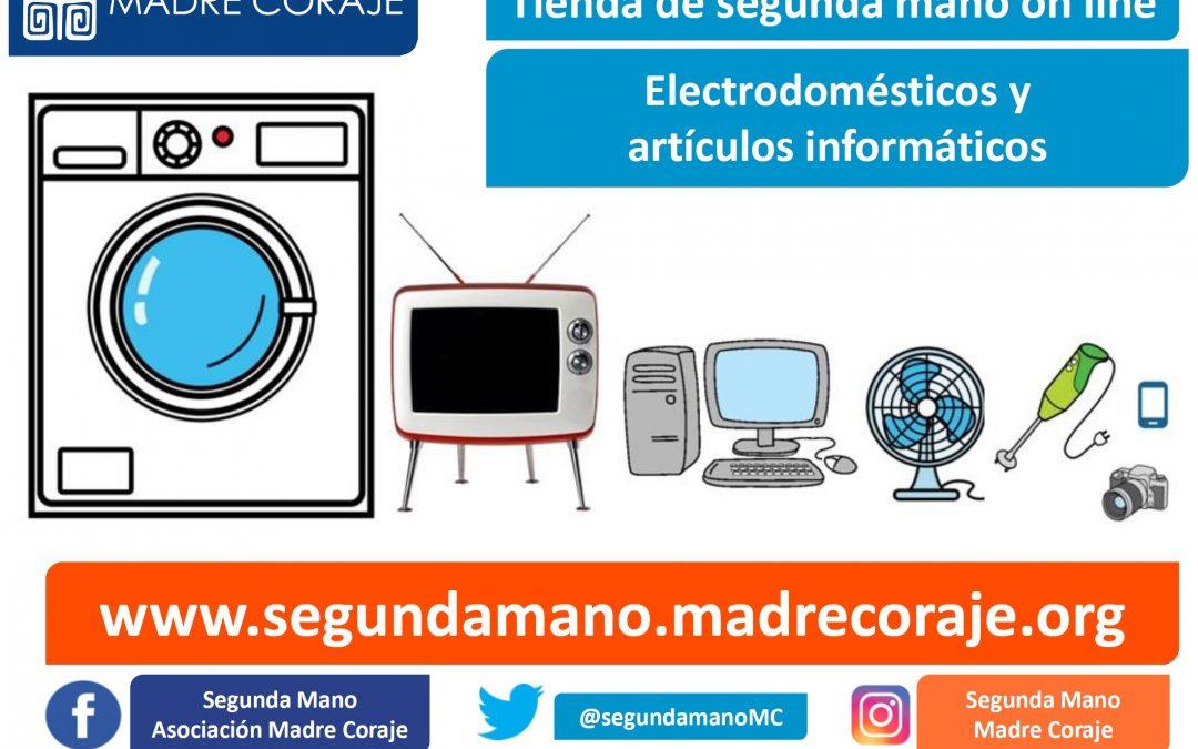 Madre Coraje abre una tienda de segunda mano on line de electrodomésticos y artículos informáticos