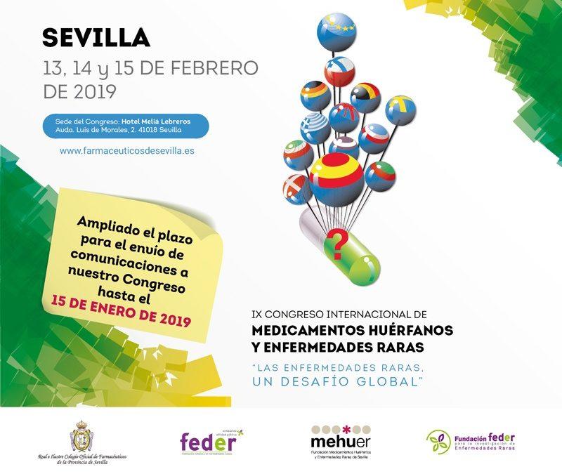 Fundación Mehuer prepara para febrero el IX Congreso Internacional de Medicamentos Huérfanos y Enfermedades Raras