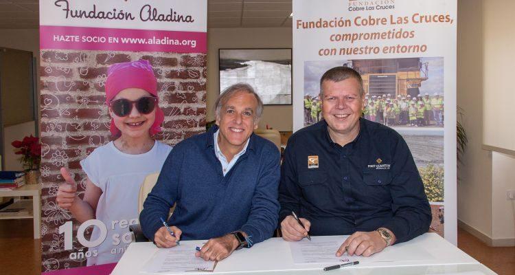 La Fundación Cobre Las Cruces se suma al 'Viaje de Aladina' con una donación de 100.000 euros para los niños con cáncer hospitalizados en el Virgen del Rocío