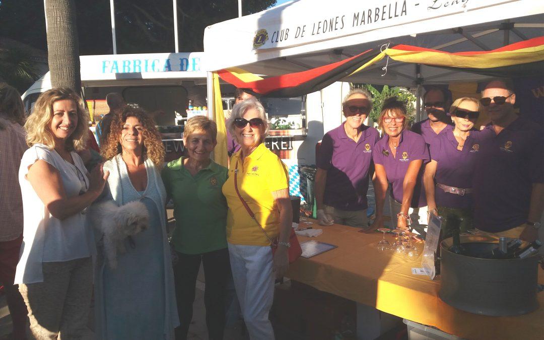 El Club de Leones de Lengua Alemana de Marbella dona a CUDECA un año más