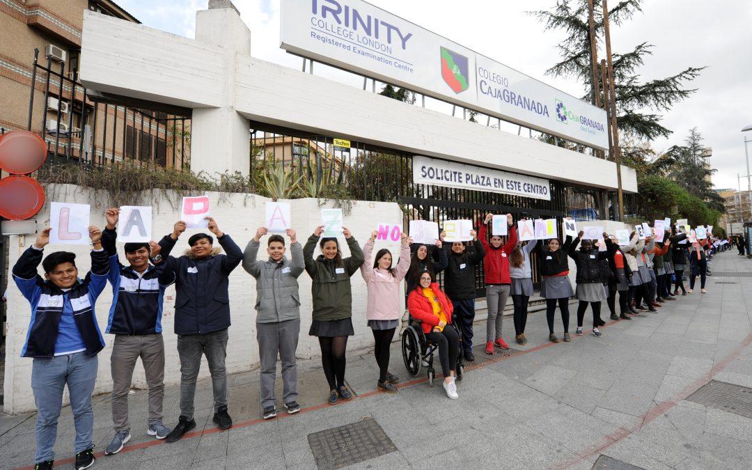 El colegio CajaGranada celebra el Día de la Paz y de la No violencia