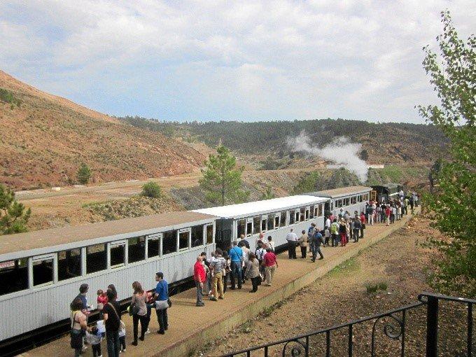 El Parque Minero de Riotinto sigue creciendo: 92.778 visitantes en 2018