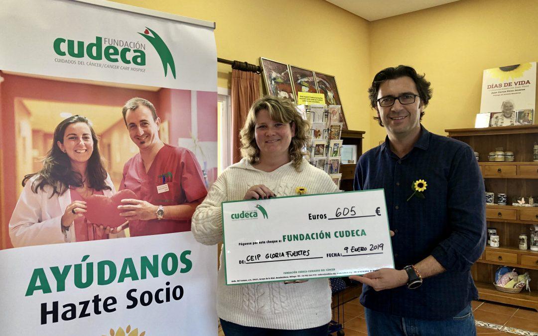 Entrega de fondos de la Carrera Solidaria Guadiaro la Fundación Cudeca – Cuidados del Cáncer