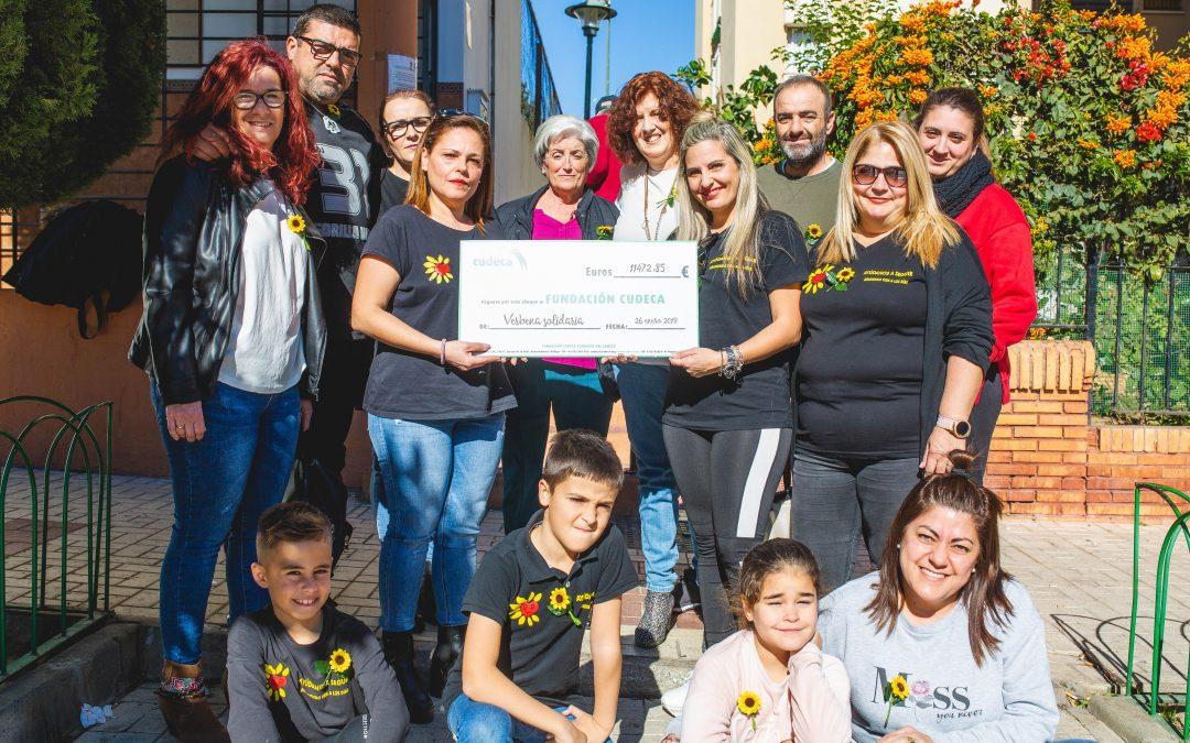 Entrega de fondos verbena solidaria «Todos con Cudeca»