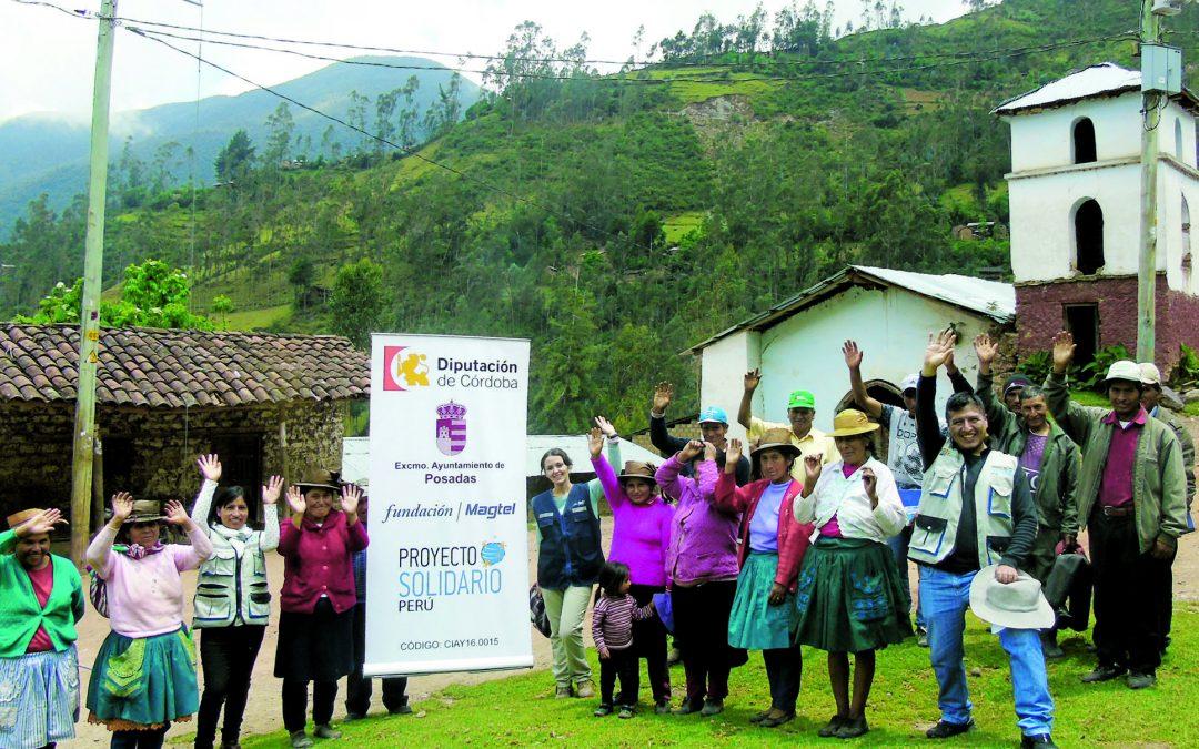 Fundación Magtel impulsa la agricultura ecológica entre la comunidad de Cedropampa (Perú) para fomentar su desarrollo socioeconómico