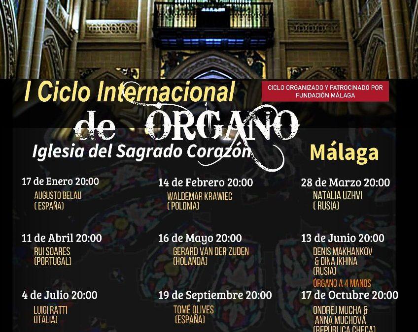 Málaga. I Ciclo Internacional de Órgano de Málaga