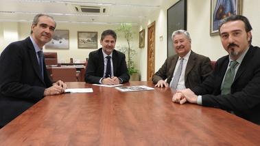 Fundación Cajasur renueva su apoyo a las actividades de la Fundación Antonio Gala