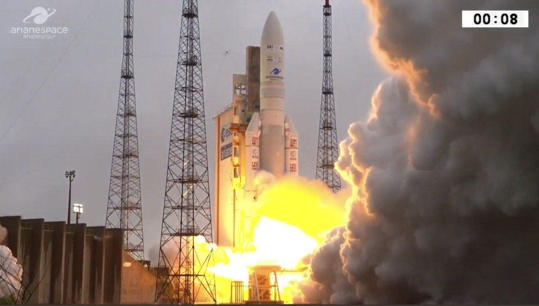 CTA asiste al lanzamiento del cohete Ariane 5 denominado 'Sevilla'