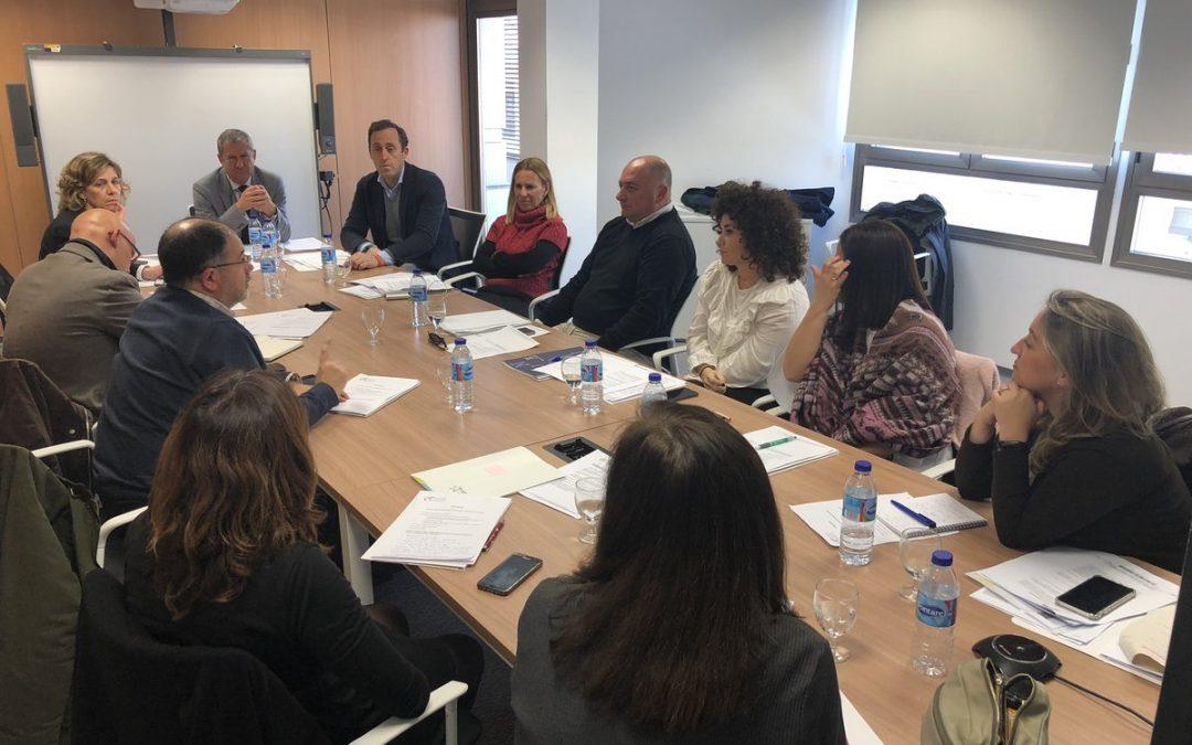 El Grupo de Trabajo de Fundaciones Universitarias se reúne en Granada