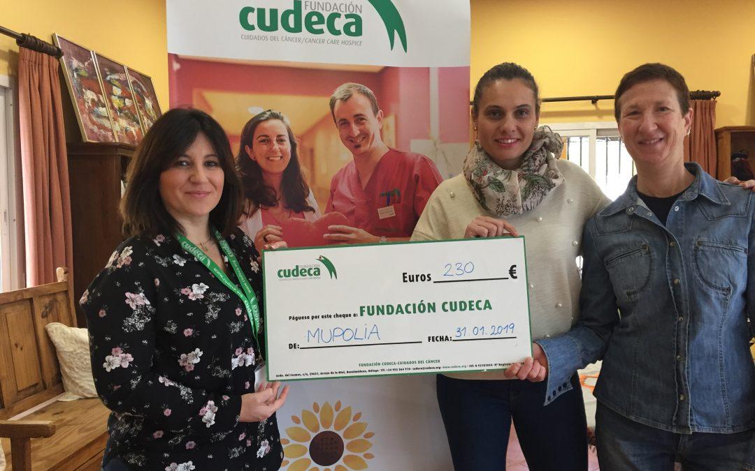 MUPOLIA visita CUDECA y entrega la donación de todas sus socias