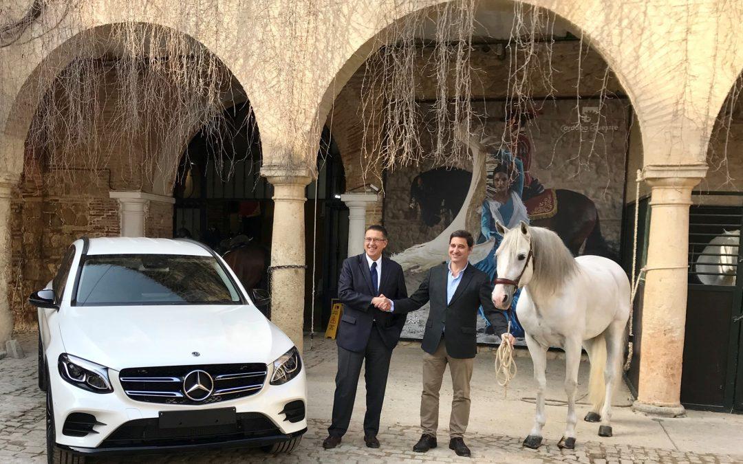 Córdoba Ecuestre y Covisa – Mercedes Benz alcanzan un acuerdo de colaboración