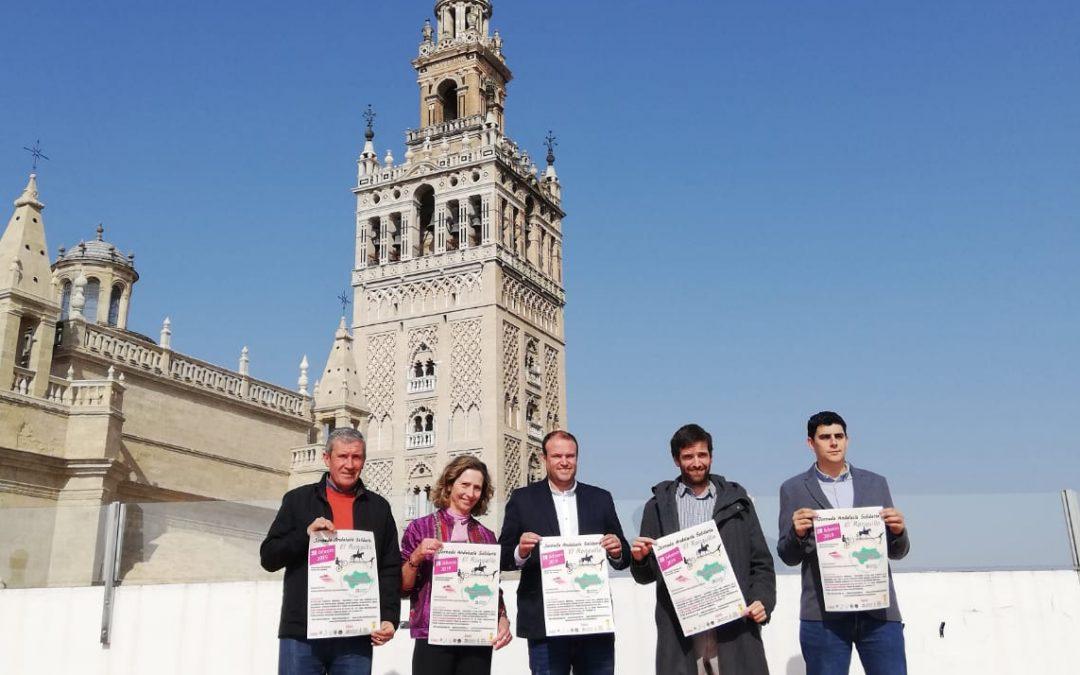 El Alcalde de El Ronquillo y la Presidenta de Autismo Sevilla presentan la jornada Andalucía Solidaria