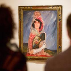 Últimos días para visitar la muestra inédita sobre lturrino junto a otros artistas como Matisse, Zuloaga o Regoyos