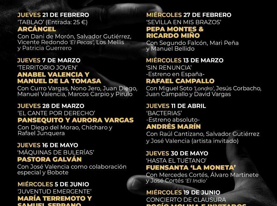 Sevilla. Jueves Flamencos: Ciclo de Primavera 2019 con 'Arcángel' y 'Tablao'
