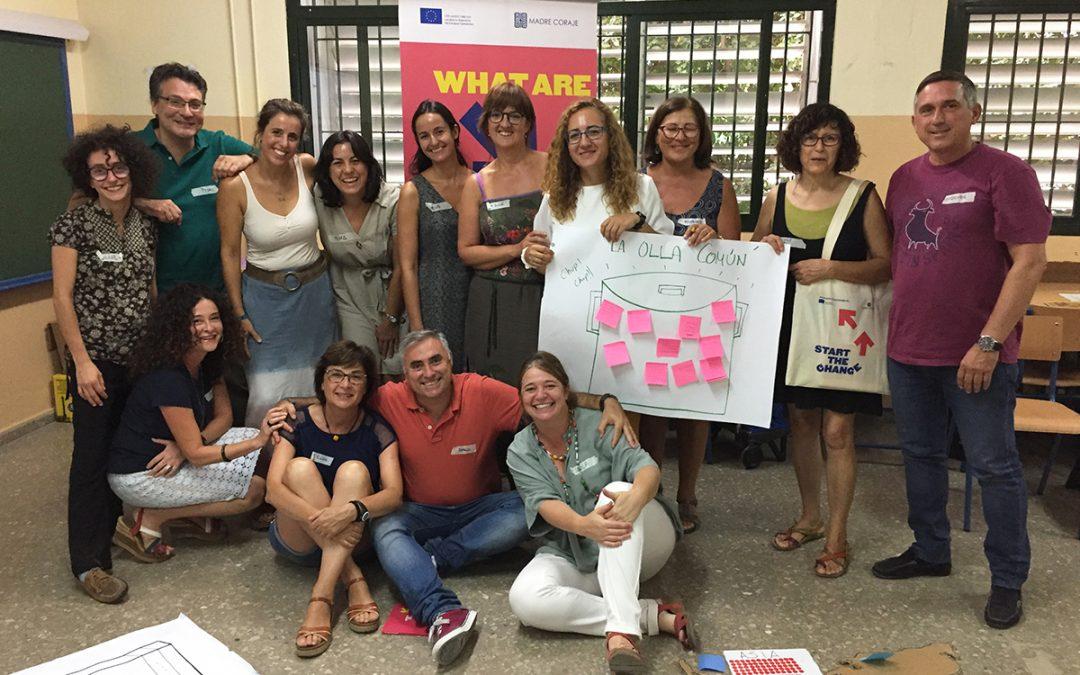 El proyecto 'Start The Change!' de Madre Coraje busca educadores de jóvenes para concienciar sobre desarrollo sostenible, desigualdades y migraciones