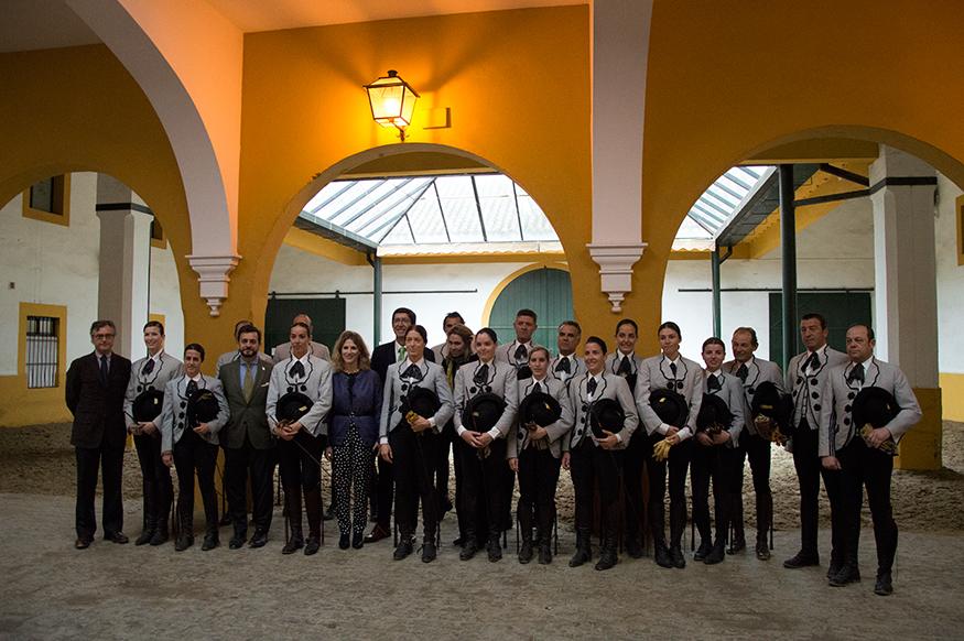 Marín reafirma el compromiso de la Junta con la Real Escuela Andaluza de Arte Ecuestre