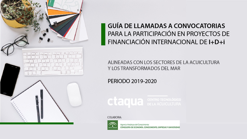 Ctaqua presentará en abril la guía de convocatorias a proyectos internacionales de I+D+i