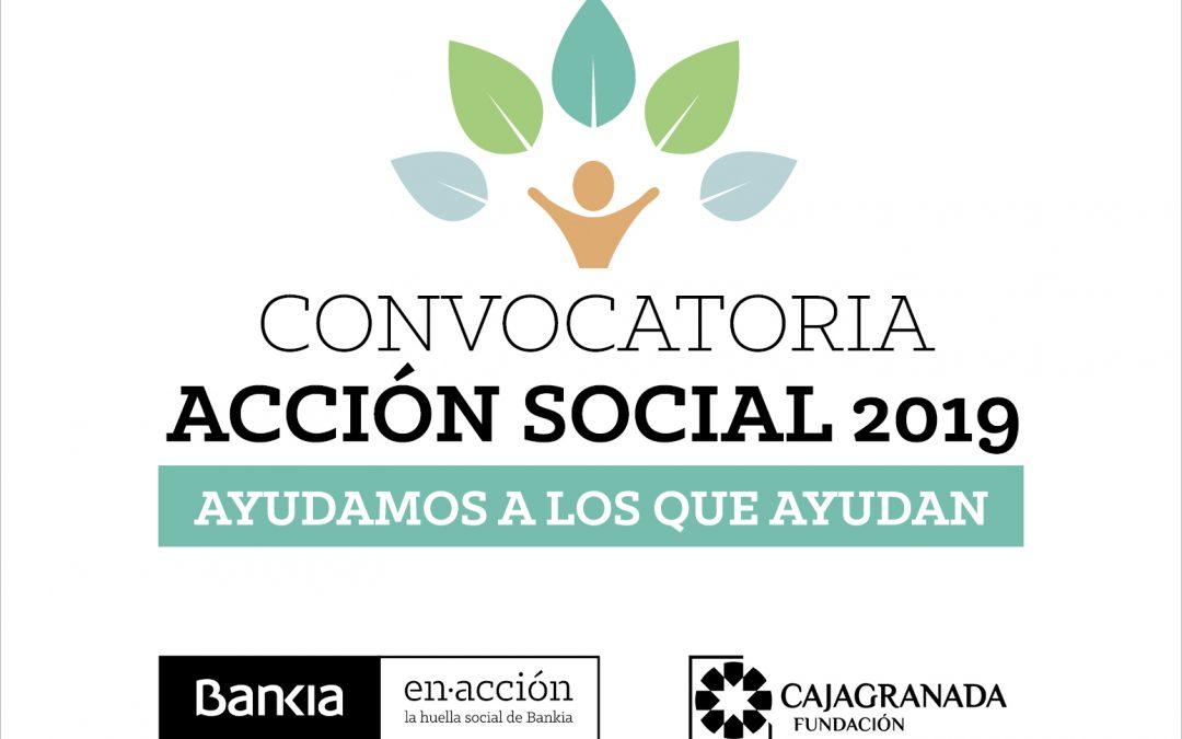 Bankia y CajaGranada Fundación lanzan la convocatoria 'Ayudamos a los que ayudan' para apoyar proyectos sociales en Andalucía por 250.000 euros