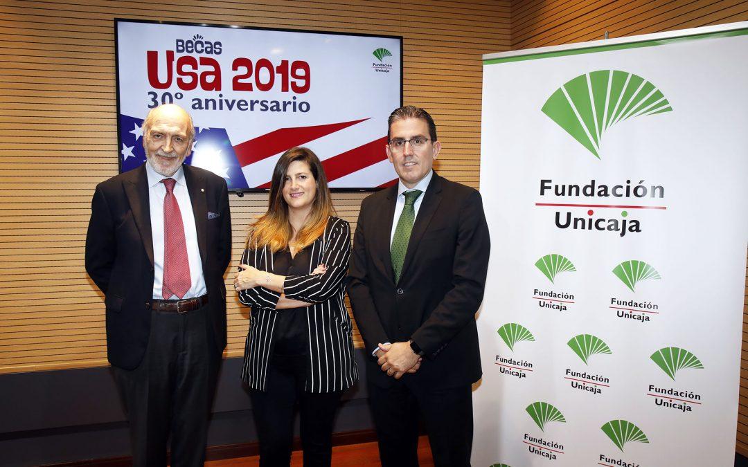 Fundación Unicaja convoca sus Becas USA 2019 que cumplen tres décadas