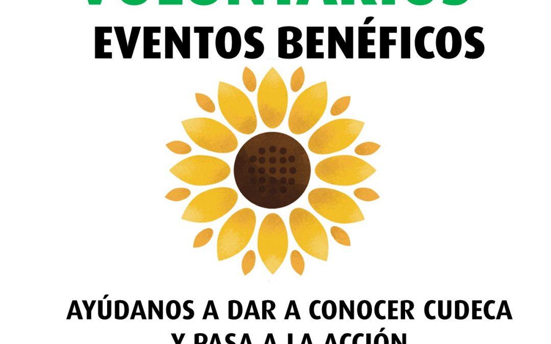 La Fundación Cudeca busca voluntarios para colaborar en Eventos Benéfico