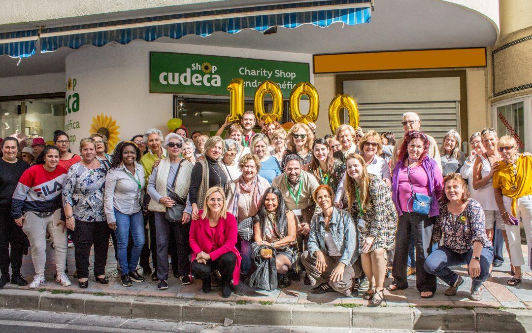 Multitudinaria inauguración de la nueva Tienda Benéfica  de la Fundación Cudeca en Los Boliches (Fuengirola)