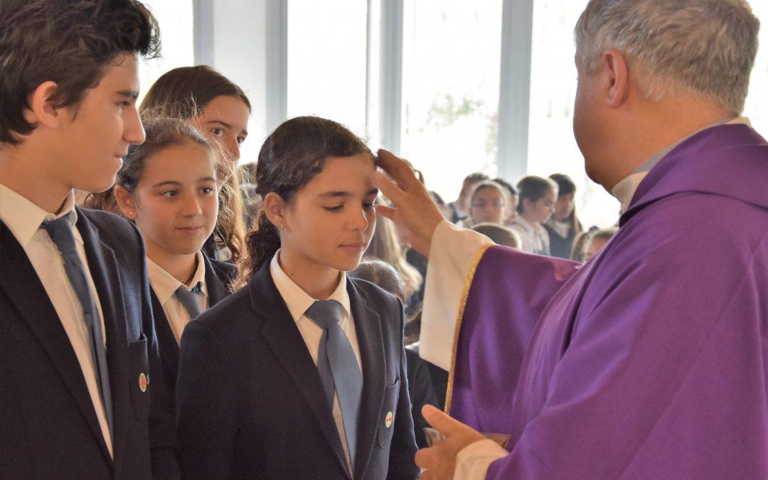 Comienza la Cuaresma en el Colegio CEU San Pablo Sevilla