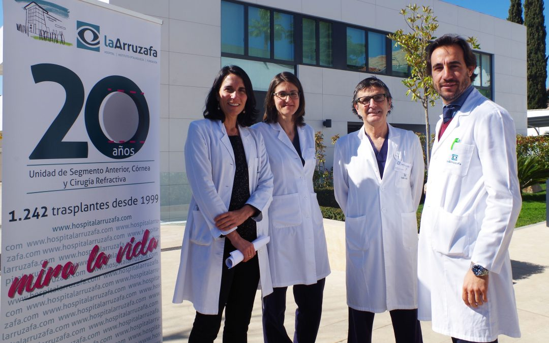 La Unidad de Trasplantes del Hospital La Arruzafa cumple veinte años tras realizar 1.242 cirugías