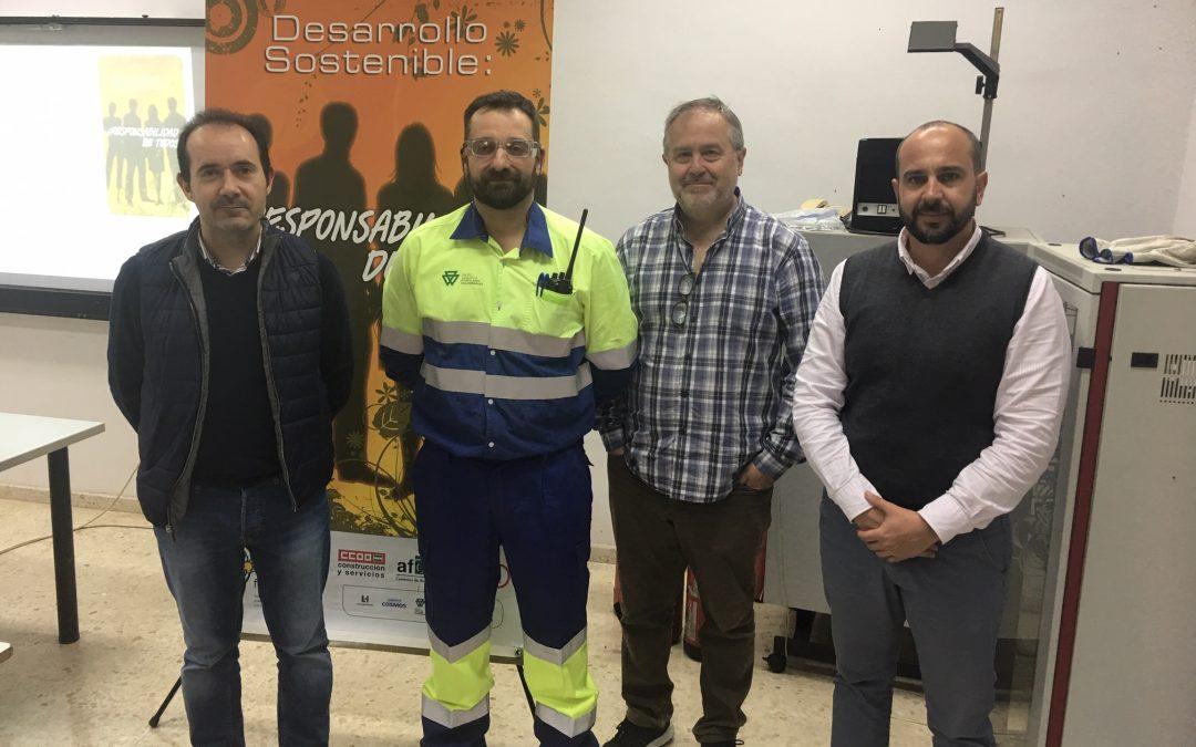 El sector cementero andaluz promueve la economía circular entre los jóvenes de Alcalá de Guadaíra