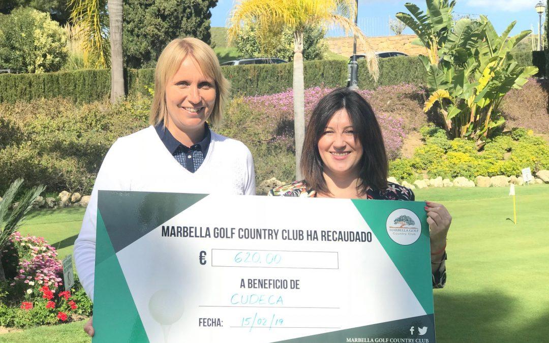 El Marbella Golf & Country Club  sigue ayudando a CUDECA desde el año 2015