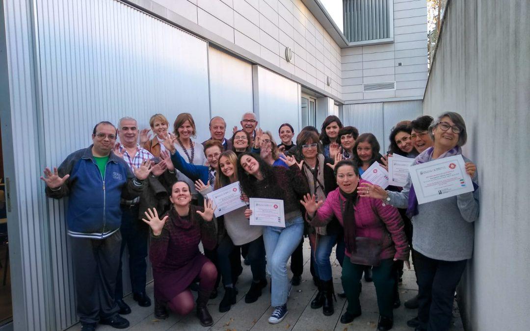 Clausura del curso de voluntariado 'Sevilla Contigo, Ciudad Compasiva' de Fundación New Health