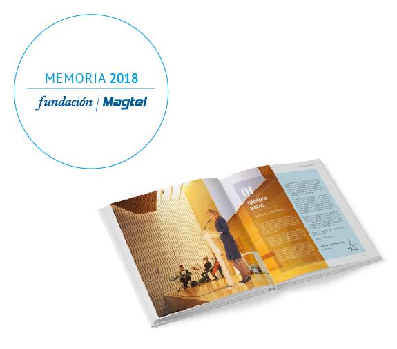 Fundación Magtel publica su Memoria de Actividades de 2018
