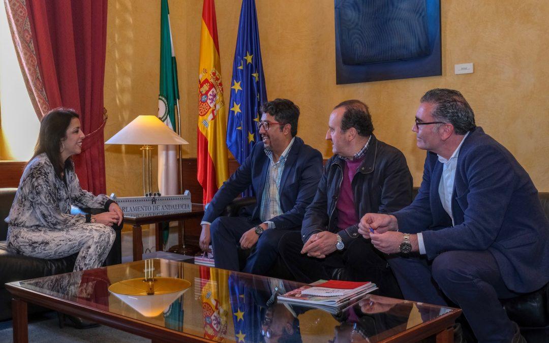 La FSU se reune con la presidenta del Parlamento de Andalucía