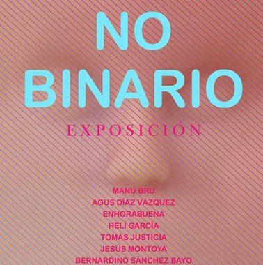 Dos residentes participan en la colectiva «No binario», en Huelva