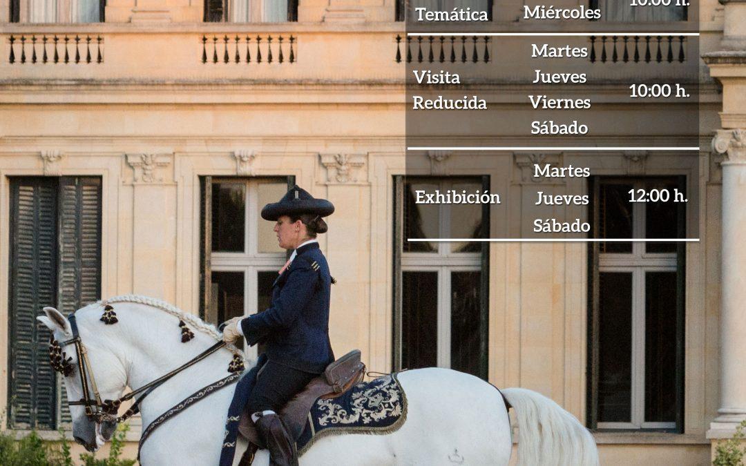 La Real Escuela Andaluza del Arte Ecuestre incrementa su programación con motivo de la Semana Santa