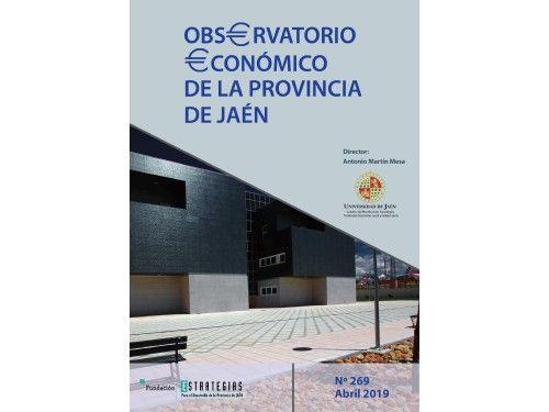 Fundación Estrategias publica el «Observatorio económico de la provincia de Jaén»