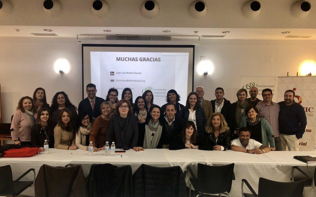 Gran éxito de asistencia en el curso para aprender a gestionar una ONG en Córdoba
