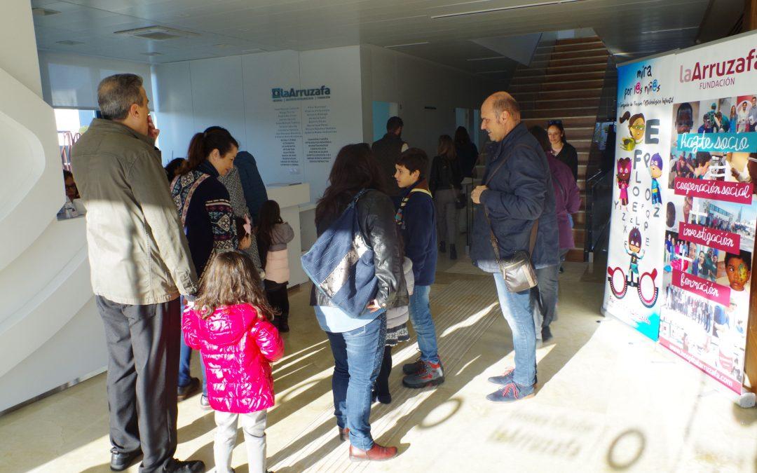 Dos de cada diez escolares atendidos por la  Fundación La Arruzafa en su campaña anual padece alteraciones visuales no detectadas
