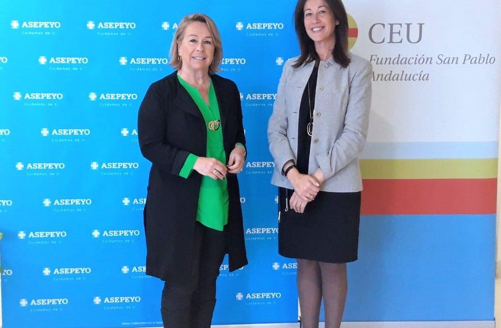 Estudiantes del Centro de Estudios Profesionales CEU realizarán prácticas profesionales en Asepeyo