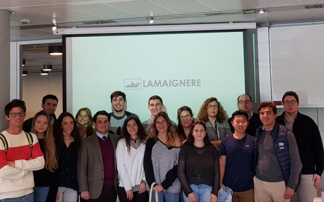 Fundacion Lamaignere inicia su programa de divulgación del sector transitario de la mano de la Universidad Loyola en Sevilla
