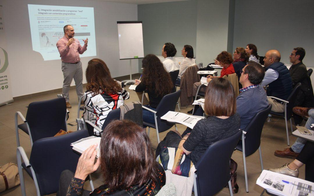Clase magistral de Javier Ruiz en el 2º módulo del curso de Captación de Fondos