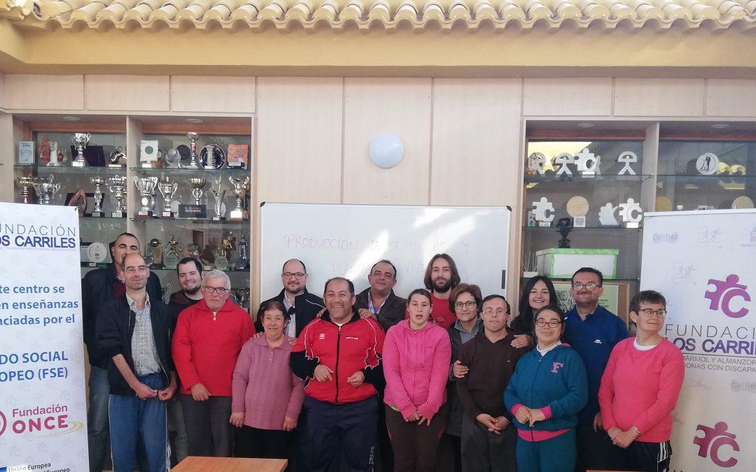 Comienza el curso formativo de Fundación Los Carriles 'Producción de semilla y plantas e vivero' dirigido a personas con discapacidad