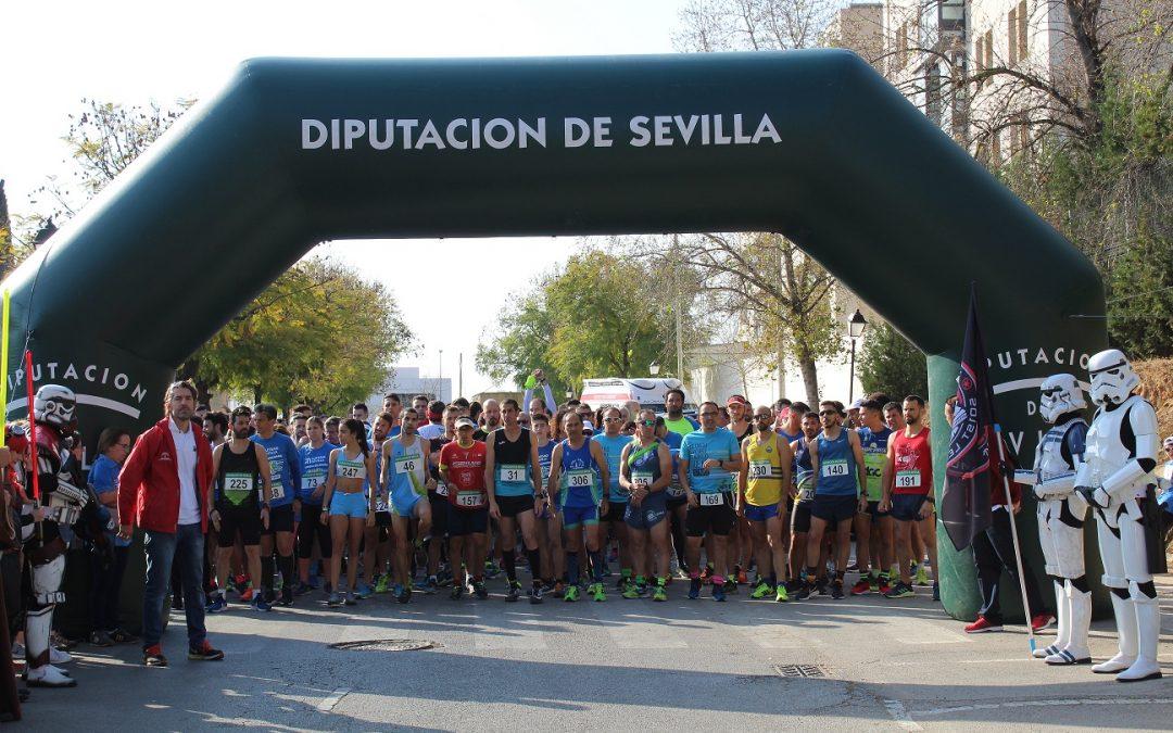 900 personas llenaron de azul las calles de Mairena el domingo en la  I Carrera Solidaria por el Autismo
