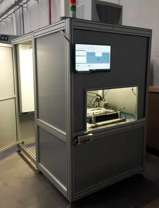 Andaltec desarrolla un dispositivo láser para microtexturizar superficies metálicas y plásticas