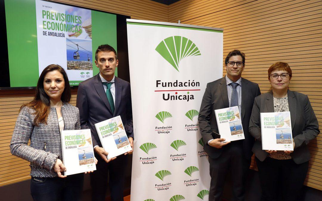 Fundación Unicaja publica el último número de su informe 'Previsiones Económicas de Andalucía'
