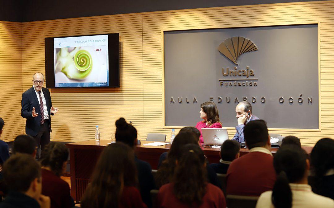 Fundación Unicaja celebra el Día de Internacional de Concienciación contra el Ruido con una charla divulgativa sobre contaminación acústica