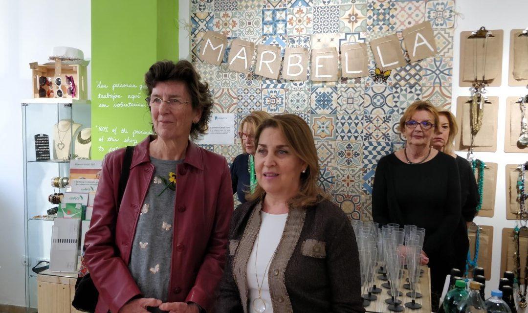 Re-inauguración de la Tienda Benéfica de la Fundación Cudeca en Marbella